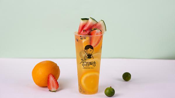 满杯水果绿